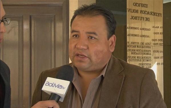Marco Ortega asume el cargo de manera interina. (Foto: Bolivia Tv)