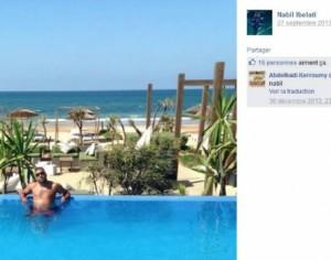 Nabil Ibelati había sido condenado a diez años de cárcel (Captura: Facebook)
