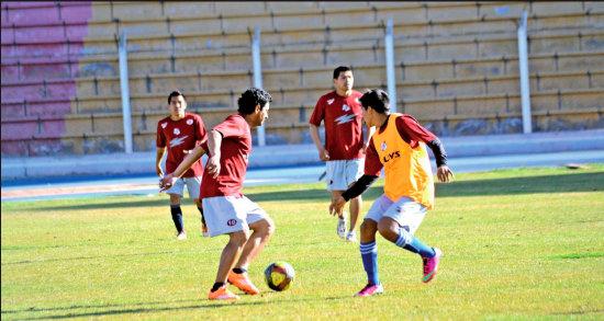 Nacional Potosí cerró prácticas confiados en quedarse con las tres unidades. (Foto: elpotosi.net)