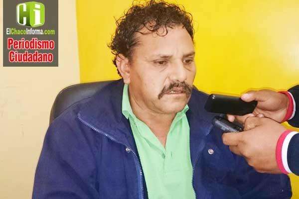 Tito Saldaña, responsable de SETAR Caraparí. (Foto de archivo)