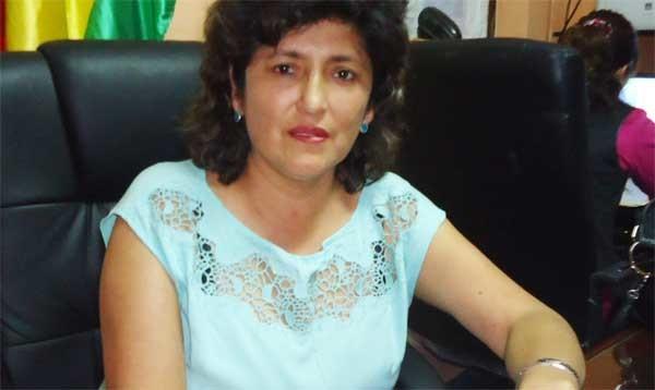 Nehiza Guzmán, Presidenta del Concejo Municipal de Villa Montes. (Foto: El Chaqueño)