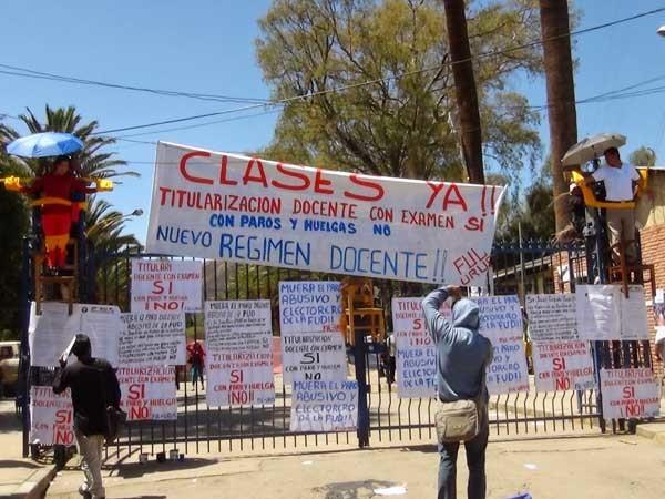 Retornan a clases tras más de 17 semanas de paro. (Foto: luchadeclases.org)