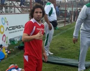 El brasileño naturalizado boliviano Marteli, durante su primer entrenamiento. (Foto: Prensa FBF)