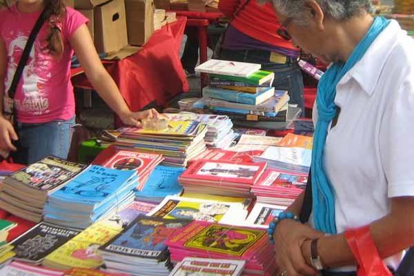 Ferias de libros en la Región del Chaco. (Foto: referencial)