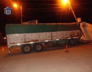 La banda simulaba ser asaltada en rutas salteñas cuando transportaba mercaderías. (Foto: lagaceta.com.ar)