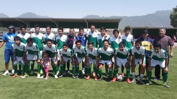 Seleccionado yacuibeño de fútbol Sub-17. (Foto: Armando Vaca)