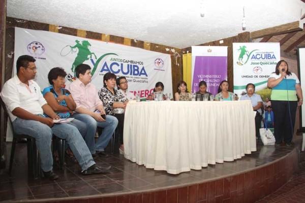 Acto de inauguración del taller de socialización. (Foto: Agencias)