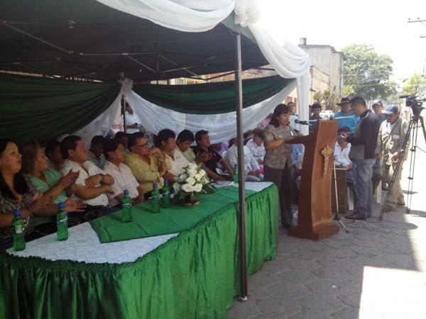 Acto de relanzamiento del Centro de Salud Integral San Pedro. (Foto: elchacoinforma.com)