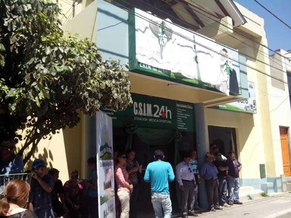 Relanzamiento del Centro de Salud Integral San Pedro. (Foto: elchacoinforma.com)