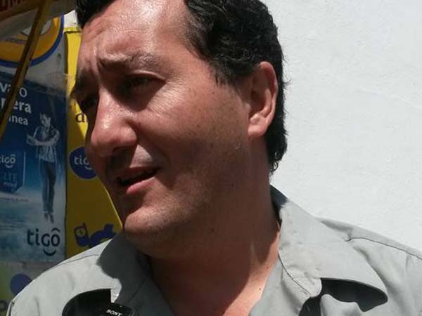 Alfonso Lema, presidente del Concejo Municipal de Tarija. (Foto: Andrés Aguirre)