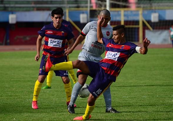 Arauco Prado resignó puntos valiosos en condición de local. (Foto: Carlos López Gamboa - Los Tiempos)