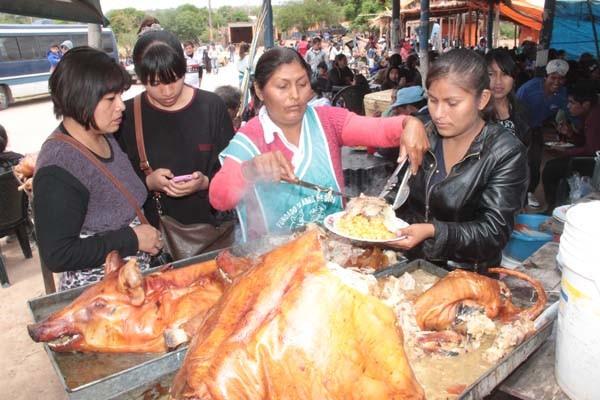 Feria del Chancho y sus derivados realizada en Santa Marta. (Foto: Agencias)