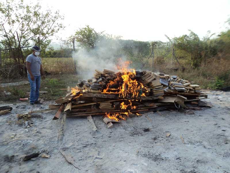 EN 8 MESES BOLIVIA INCAUTÓ 114 TONELADAS DE DROGA Y ERRADICÓ 4.200 HECTÁREAS DE COCA