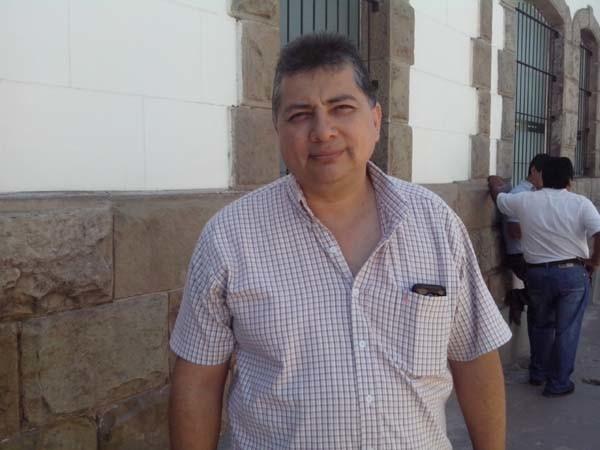 Javier Martínez, secretario municipal de desarrollo económico y productivo. (Foto: elchacoinforma.com)