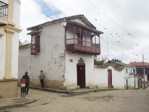 La Casa del Moto Méndez, ubicada en San Lorenzo, Tarija. (Foto: Internet)