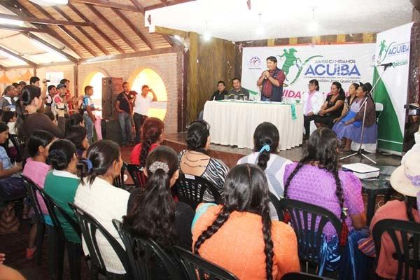 Las mujeres de las organizaciones participarán en el encuentro (foto de archivo)