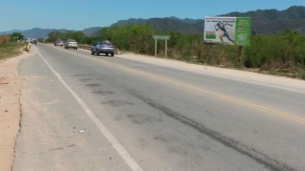 Lugar donde ocurrió el accidente de tránsito. (Foto: elchacoinforma.com)