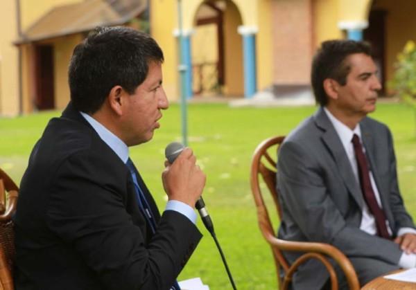 Luis Alberto Sánchez, ministro de Hidrocarburos y Energía. (Foto: ABI)