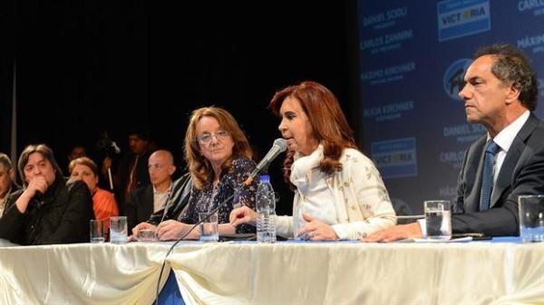Máximo Kirchner analizó el resultado de las elecciones generales, pero no habló de Scioli.(Foto:Telam)