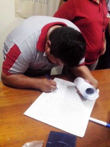 Proceso eleccionario del Comité Cívico de Yacuiba. (Foto: elchacoinforma.com)