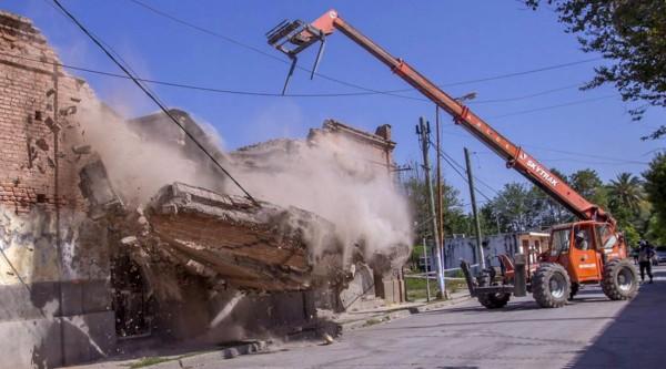 Se trata de 23 viviendas para damnificados por el último sismo. (Foto: El Tribuno)