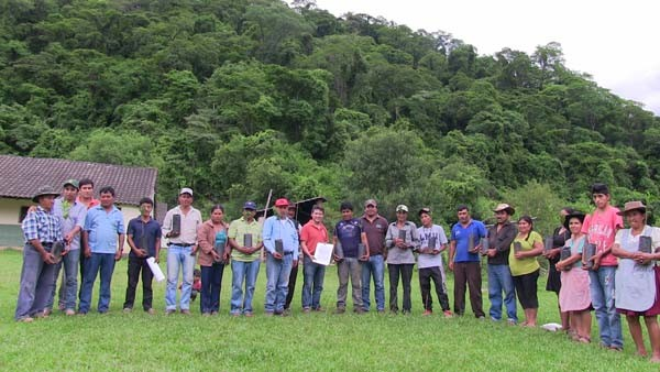 Comunidad Mataral. (Foto: Katia Garrido de Fundación Natura Bolivia)