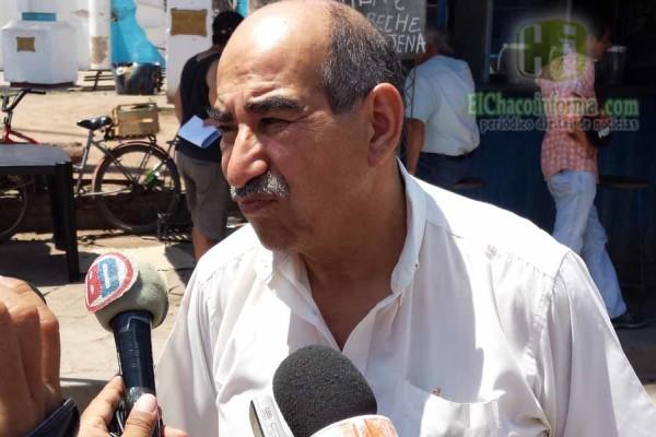 Sergio San millán, representante de los comerciantes de Salvador Mazza (Foto: elchacoinforma.com)