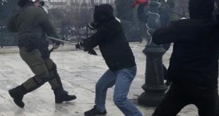 100.000 PERSONAS PROTESTARON EN ATENAS CONTRA EL GOBIERNO
