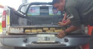 SALTA: INCAUTARON MÁS DE 90 KILOS DE COCAÍNA EN UN DOBLE FONDO DE CAMIONETA