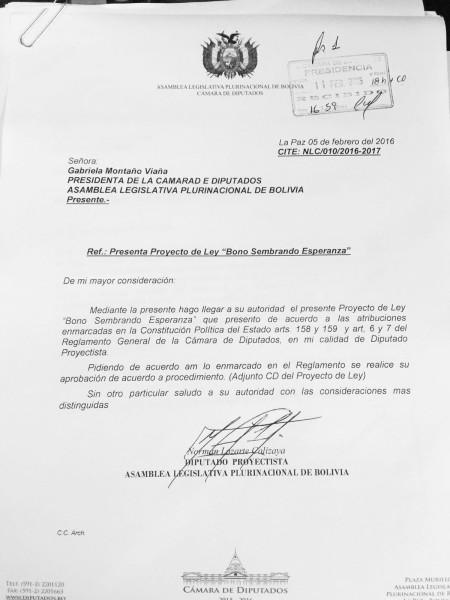 Carta a Gabriela Montaño