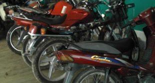 DIPROVE RECUPERA 17 MOTOCICLETAS EN TALLERES DE LA CIUDAD DE TARIJA