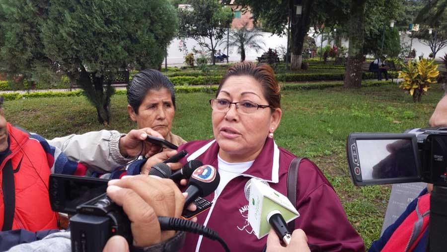 Elsa Llanos, presidenta de Amupodes Yacuiba. (Foto: elchacoinforma.com)