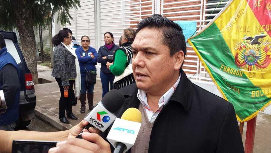 Jaime Zerda Carrillo, presidente del Colegio de Abogados de Yacuiba. (Foto: elchacoinforma.com)