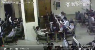 VIDEO: UN JOVEN MURIÓ ELECTROCUTADO EN UN CIBERCAFÉ DE CHINA