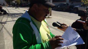 Bonifacio Paucari, dirigente del barrio Defensores del Chaco. (Foto: elchacoinforma.com)