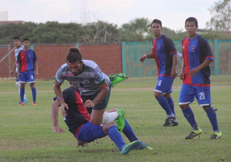 El aporte de Maidana fue determinante en los dos partidos del indirecto. (Foto: Armando Vaca)