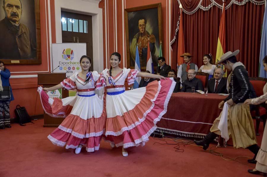 Presentación de la Expochaco Sudamericano en Tarija. (Foto: Agencias)