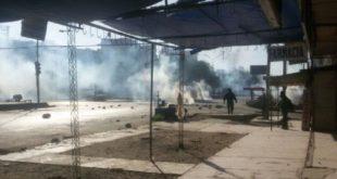COCHABAMBA: REFRIEGA ENTRE POLICÍAS Y FABRILES DEJÓ 21 ARRESTADOS Y DIEZ HERIDOS