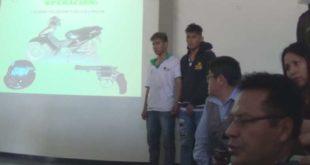 YACUIBA: DETIENEN A DOS SUJETOS QUE REALIZABAN ATRACOS EN UNA MOTOCICLETA
