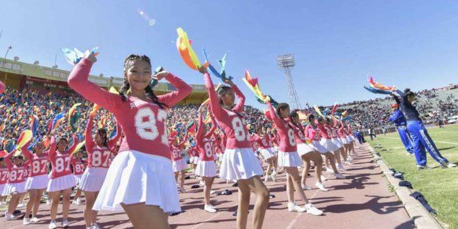 Juegos Plurinacionales De Bolivia 2016 Secundaria