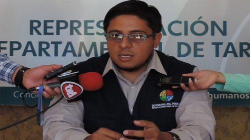 Representación del Defensoría del Pueblo en Tarija registró 850 quejas admitidas en lo que va el año
