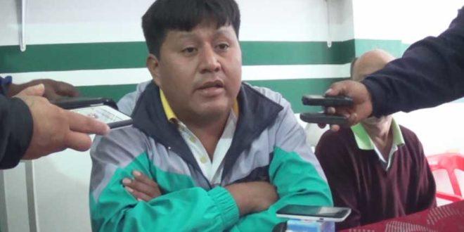 ARCHIVO. Miguel Colque renuncia a la presidencia de Petrolero del Chaco. (Foto: elchacoinforma.com)