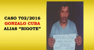 YACUIBA: POLICÍA APREHENDE A DELINCUENTE QUE TIENE 12 DELITOS EN SU HABER