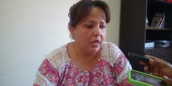 Jacqueline Naranjo,  responsable de la Defensoria de Caraparí. (Foto: elchacoinforma.com)