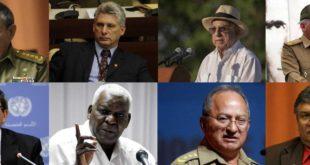 Los principales líderes de la política cubana tras la muerte de Fidel Castro. (Foto: Infobae)