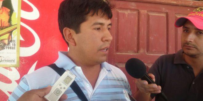 Rodolfo Fernández, OTB de la comunidad de San Alberto. (Foto: elchacoinforma.com)