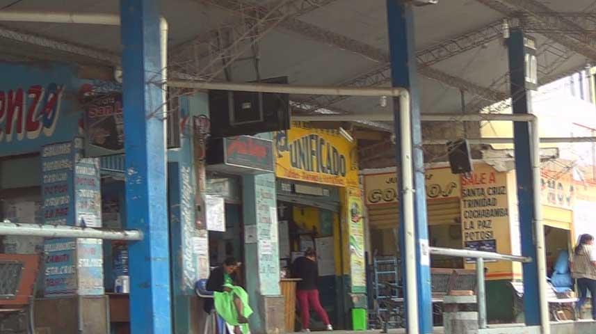 Terminal de Buses de Yacuiba. (Foto: elchacoinforma.com)