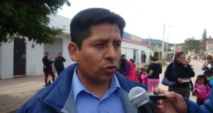 Guillermo Cincko, director distrital de educación CaraparÍ. (Foto: elchacoinforma.com)