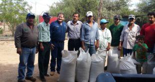 Técnicos del Gobierno Municipal junto a beneficiarios. (Foto: Agencias)