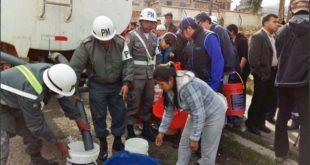 A principio de noviembre se evidenció la falta de agua en La Paz racionando a 94 barrios. (Foto: ABI)
